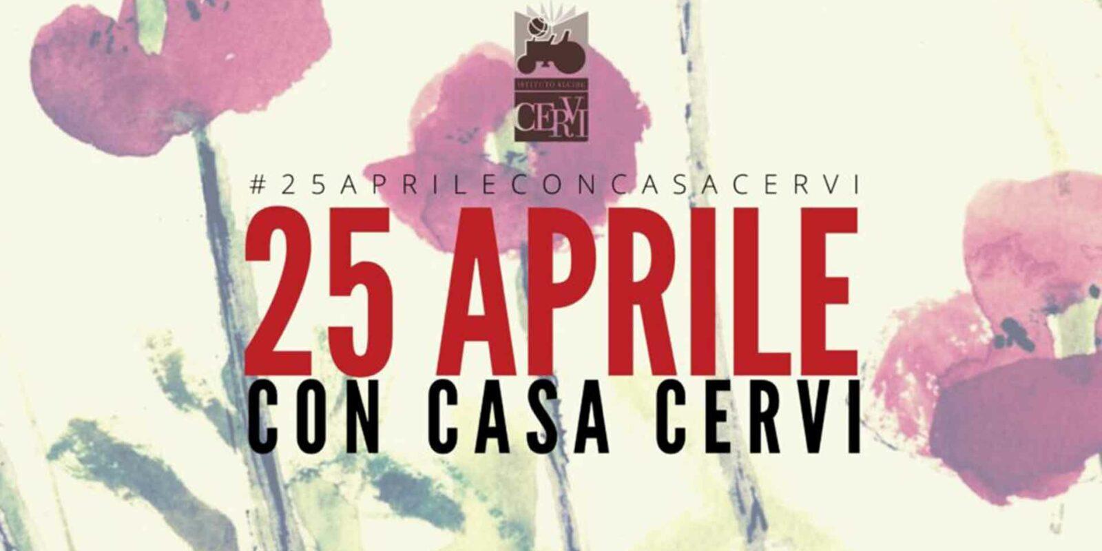 25 aprile con Casa Cervi