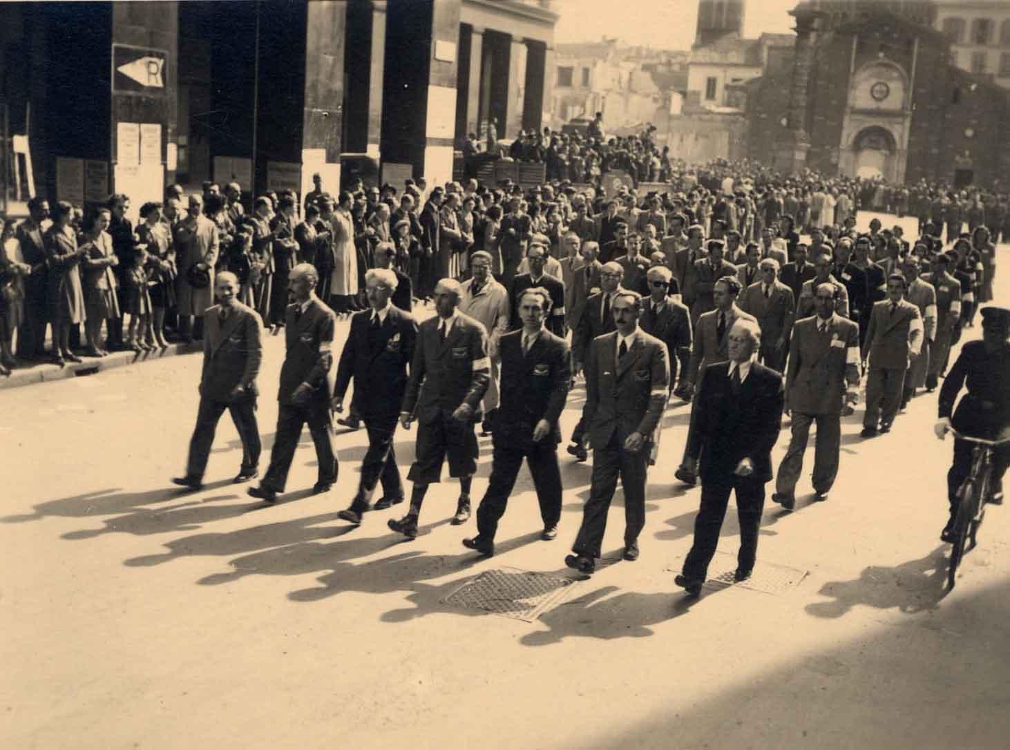 Parate partigiane del 6 maggio 1945 vertici del Clnai