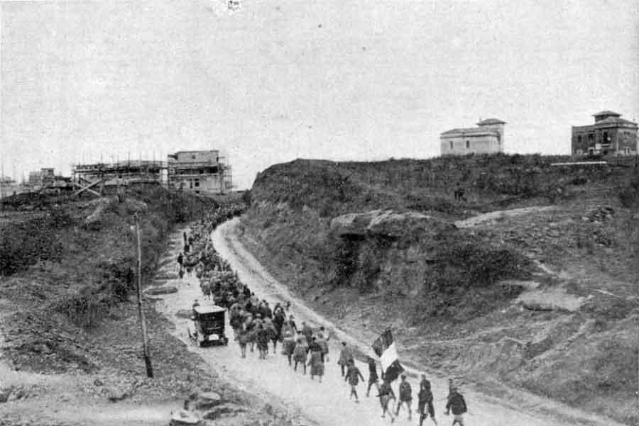 Marcia su Roma, 1922