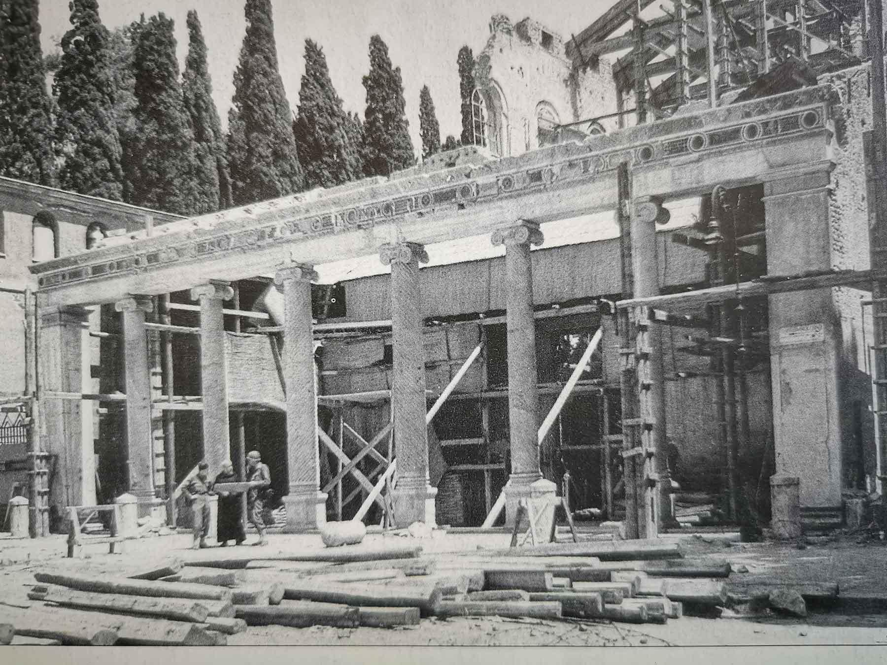 cimitero della basilica di San Lorenzo
