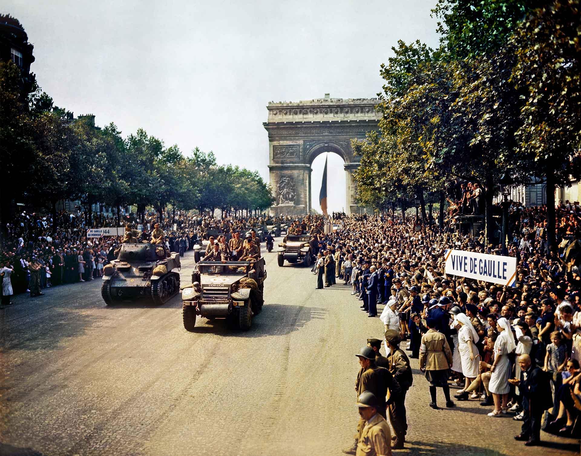 liberazione di Parigi