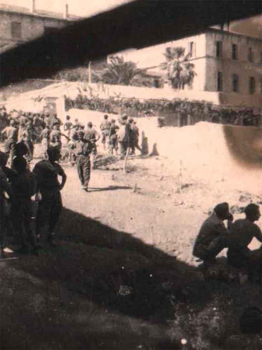 Prigionieri italiani nella ex caserma Mussolini, Argostoli